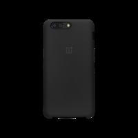 OnePlus 5 硅胶保护壳 黑色