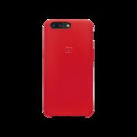 OnePlus 5 硅胶保护壳 红色