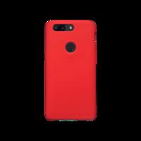 OnePlus 5T 硅胶保护壳 红色
