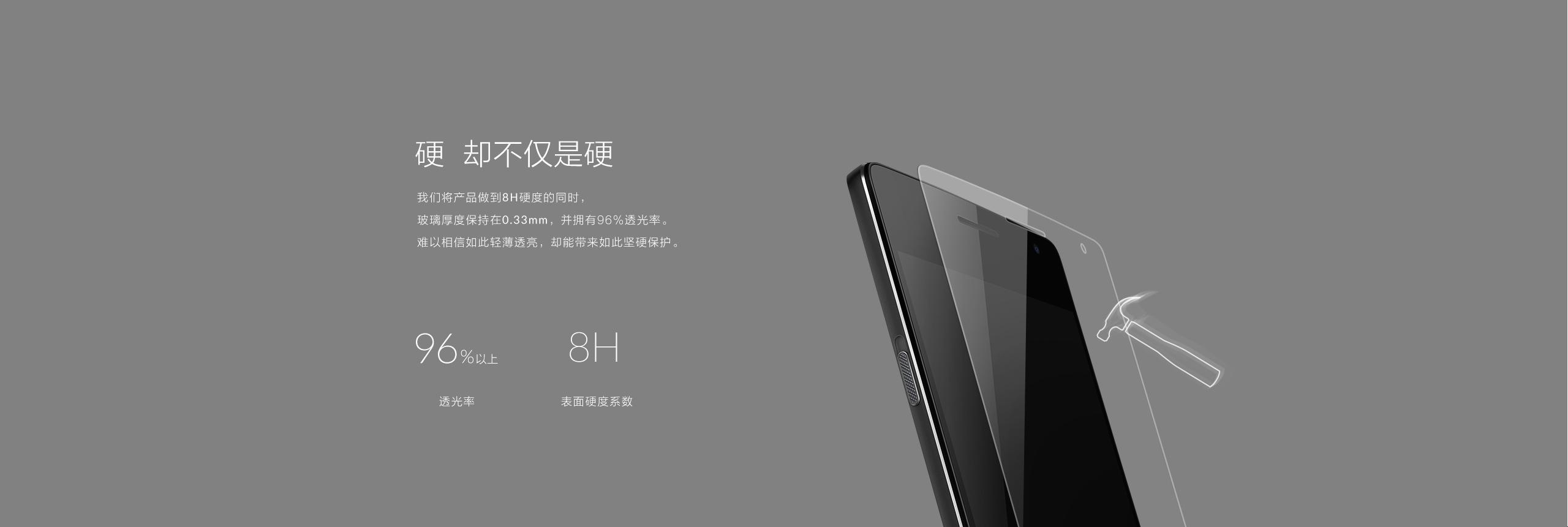 一加手机2钢化玻璃保护膜8
