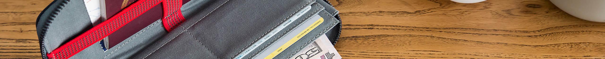一加旅行证件包(蓝灰色)21