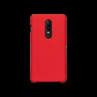 OnePlus 6 硅胶保护壳(红色)